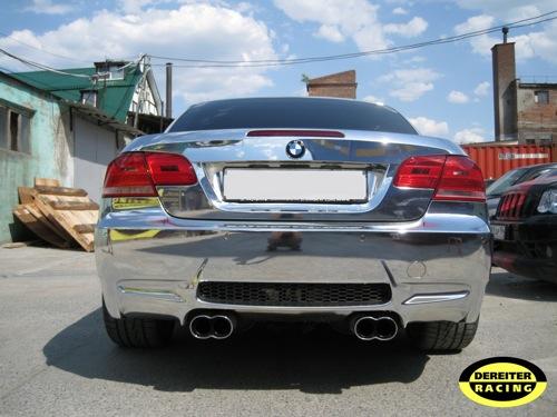BMW M3 E93 Cabriolet cromado