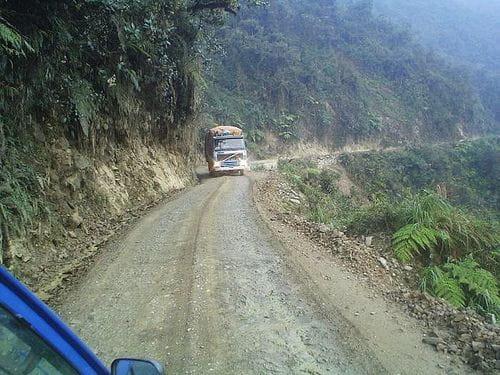 Los Yungas, la carretera más peligrosa del mundo