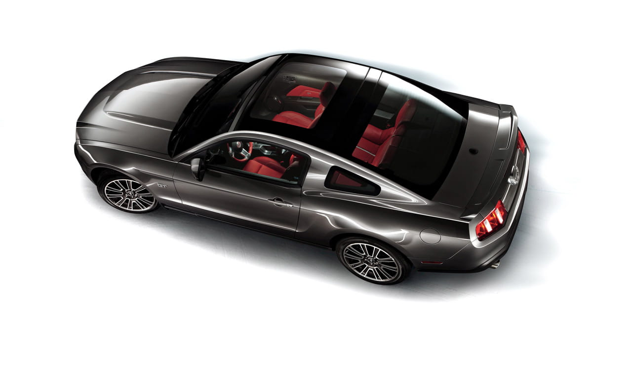 Ford Mustang Glass Roof 2010 Diariomotor