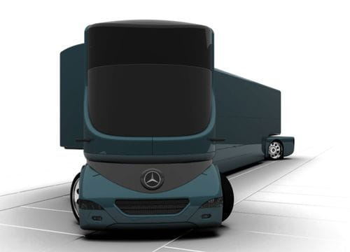 Highly Sophisticated Transporter, el camión del futuro
