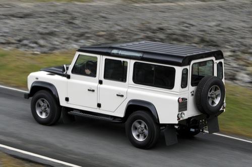 Land Rover Defender Fuego y Hielo