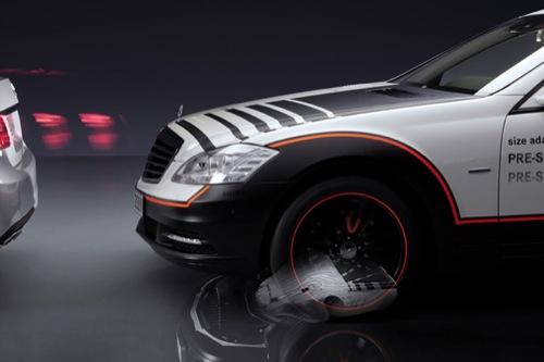Mercedes ESF Concept: muestra de lo que se puede hacer con un airbag