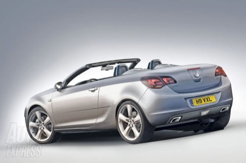 Recreación del Opel Astra Cabrio