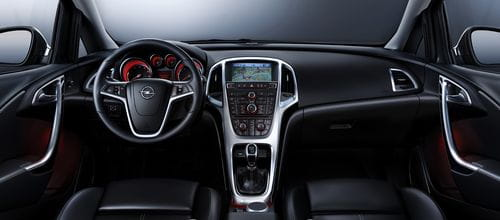 Así es el interior del nuevo Opel Astra