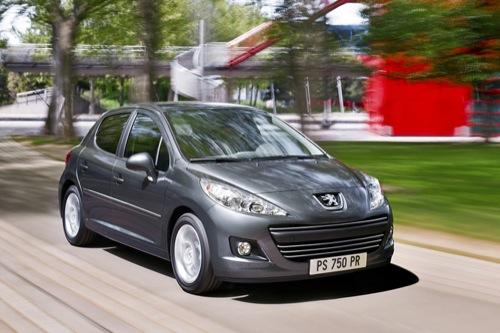 Primeras imágenes del nuevo Peugeot 207 de cinco puertas