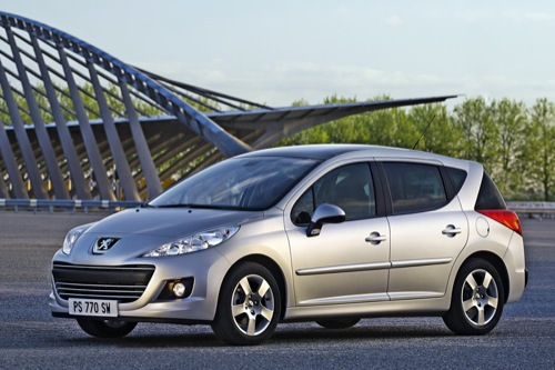 Primeras imágenes del nuevo Peugeot 207 SW