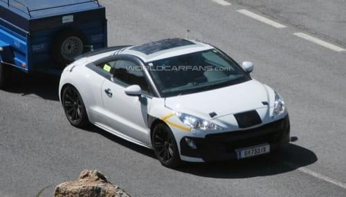 Nuevas imágenes espía del Peugeot 308 RC-Z