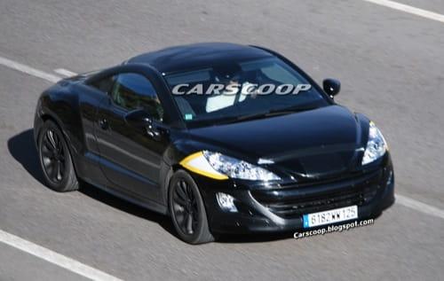 Espiando al TT francés, el Peugeot 308 RC-Z al descubierto