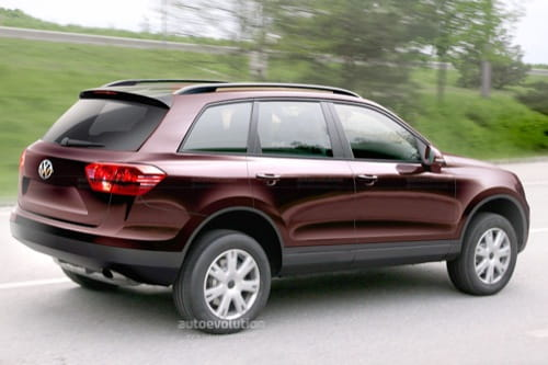 Recreaciones del Volkswagen Touareg 2011