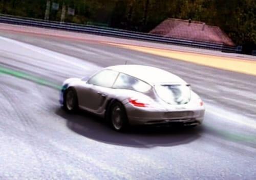 Porsche Cayman Shooting Brake en el videojuego Forza 3