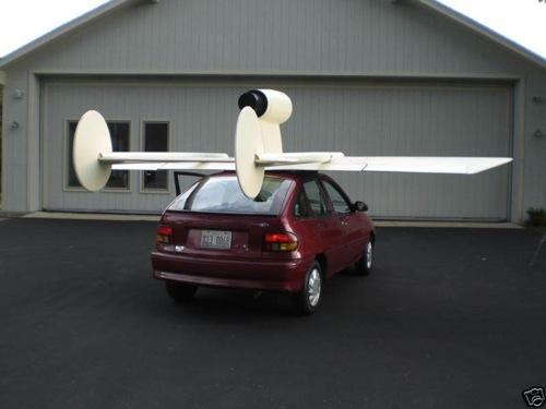 Ford Aspire Jet Aircar