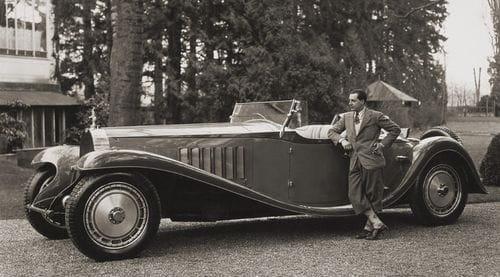 Elaborada recreación del Bugatti Royale