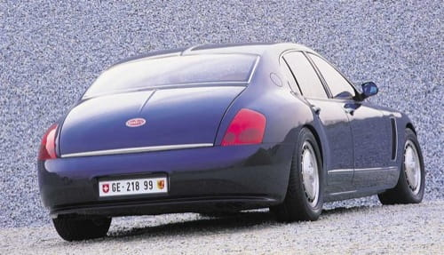 Bugatti EB 218 sedán concept