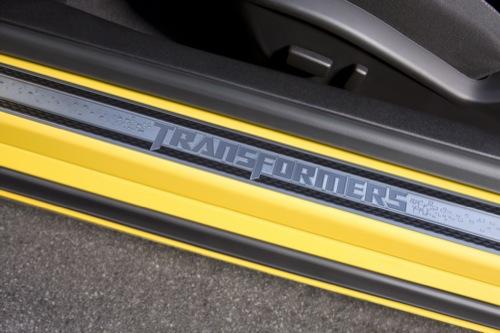 Chevrolet Camaro edición especial Transformers