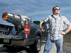 Ford F-150 propulsado a reacción