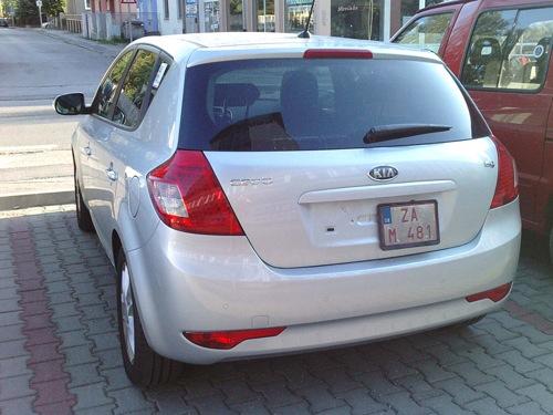 Kia Cee'd 2010 con claridad