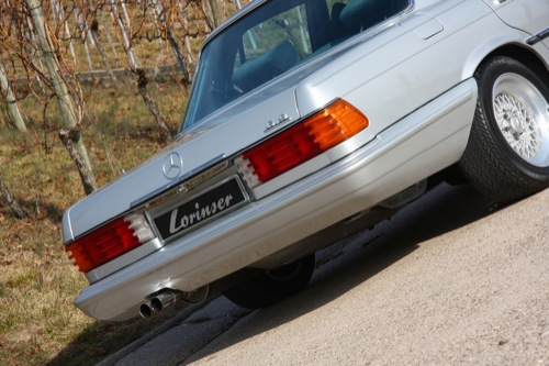 Mercedes 450 SEL 6.9 por Lorinser