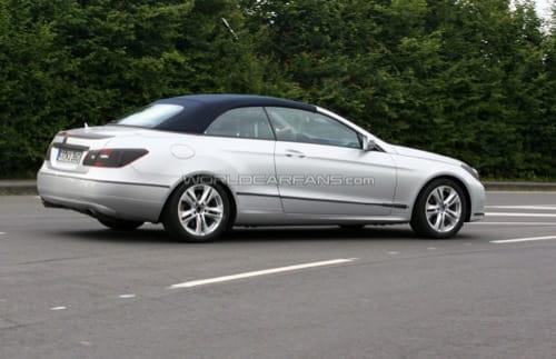 El Mercedes Clase E Cabrio cazado en Nürburgring