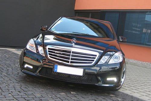 Mercedes Clase E con cierto estilo retro por CDC International