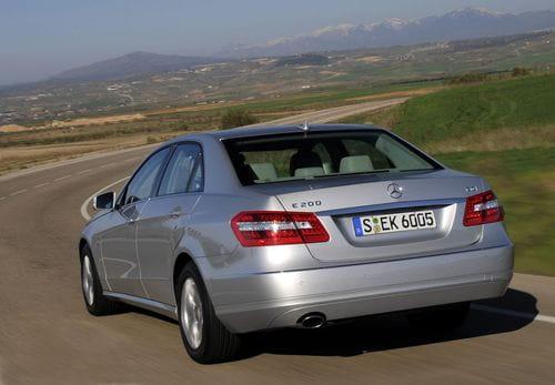 Nuevos cuatro cilindros para el Mercedes Clase E