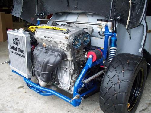 Mini clásico con 395 CV y tracción total