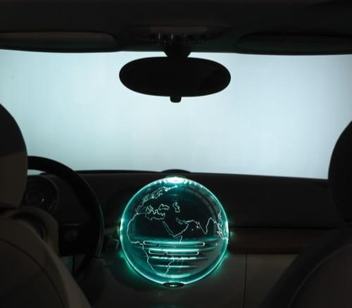 Mini Crossman, Center Globe
