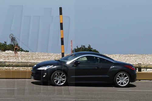 Filtradas imágenes del Peugeot RC-Z de producción