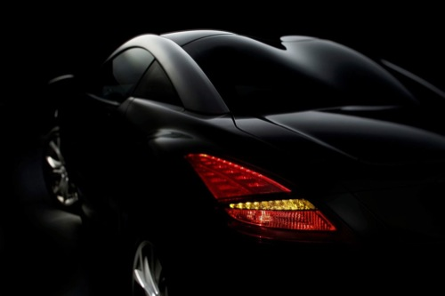Peugeot RC-Z, teaser