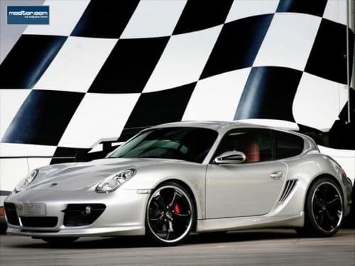 Porsche Cayman Shooting Brake