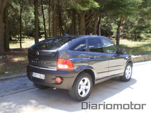 Prueba: SsangYong Actyon 200XDi Limited Aut., segunda parte