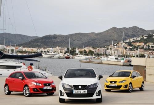 Seat Ibiza FR, Bocanegra y Cupra