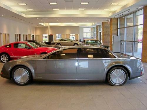 El Lincoln Sentinel Concept se vende por internet