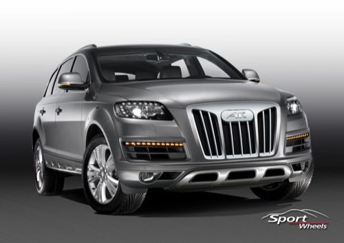 Sports Wheel le fusila la cara al Audi Q7