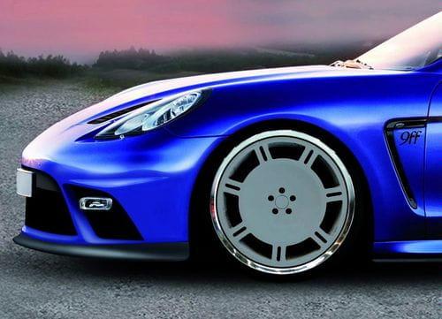 9ff adelanta su preparación del Porsche Panamera