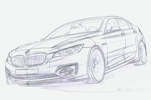 BMW Serie 3 boceto