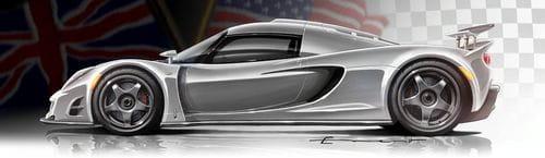 Hennessey Venom GT, objetivo Bugatti Veyron