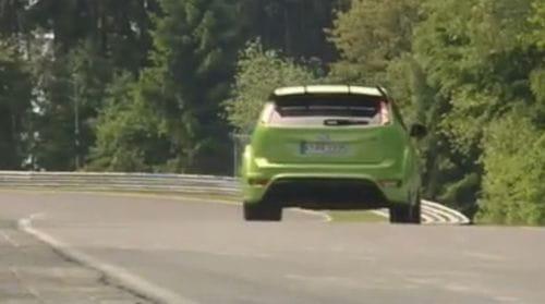 La vuelta al Nürburgring del Ford Focus RS, vídeo
