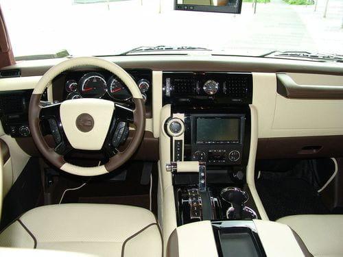 Geiger Cars Hummer H2 Kompressor, Latte Macciatto