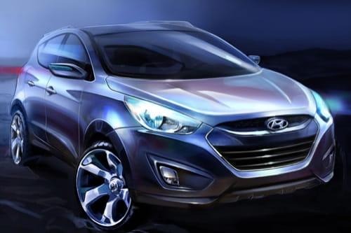 Primeras imágenes del Hyundai ix35