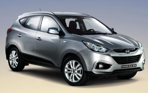 Hyundai Tucson ix35 2010 Corea