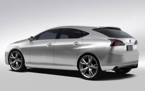 Recreación del compacto de Lexus