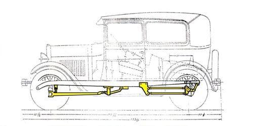 Ford Model A de 1929, un clásico radicalizado por MAT y Cosworth