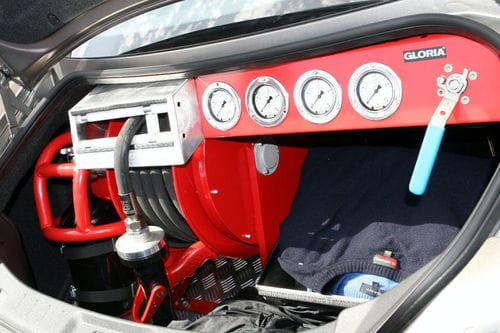 Un Nissan GT-R apagará fuegos en el Infierno Verde