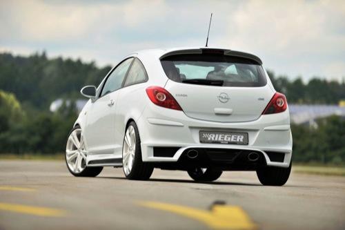 Tuning radical de Rieger para Opel  Corsa