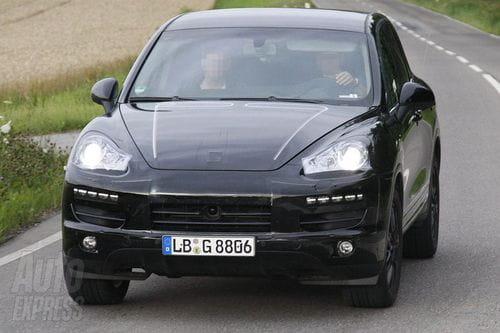 Fotos espía del próximo Porsche Cayenne