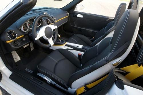 Porsche Boxster por TechART