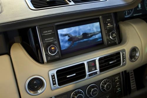 Range Rover incorpora la pantalla táctil de doble visión