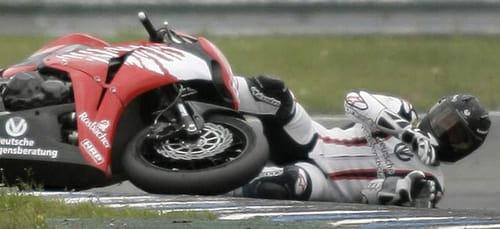 Accidente de moto de Michael Schumacher