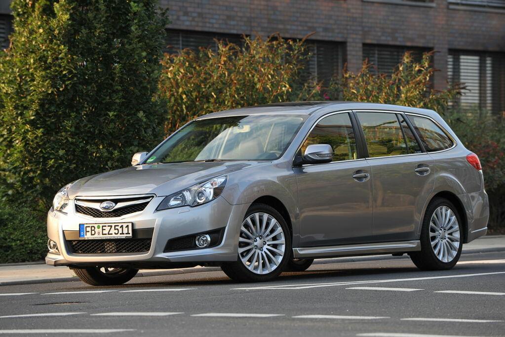 2009 Subaru Legacy Station Wagon Car Pictures