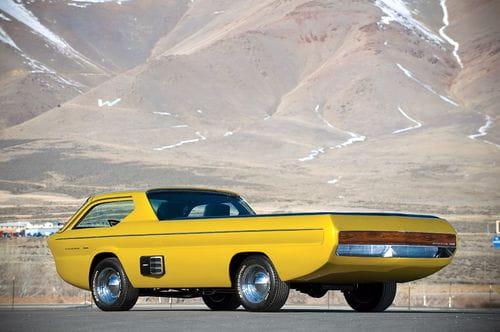 Dodge Deora Concept, el pick-up del futuro en 1965